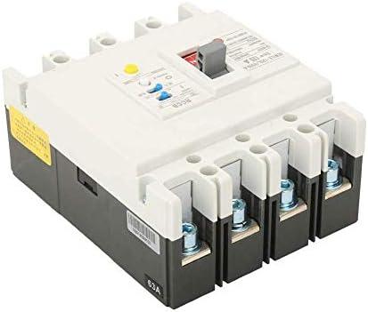 WXQ-XQ 残留電流ブレーカー、安全な信頼性の高い3P + N残留電流回路ブレーカRCCBエアスイッチ800V 63A / 80A / 125Aの保護のための回路(#3) 遮断器