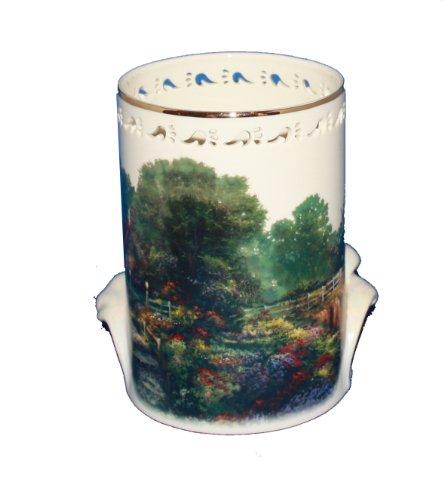 Lenox - Thomas Kinkade - The Light of Peace Votive for Candle - Fine Ivory -