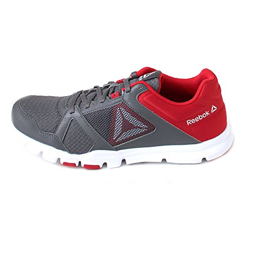 Fitness Reebok White Homme Primal Yourflex MT Shark de Train Chaussures Red Primal 10 White Red Shark Gris wrAYxr0q