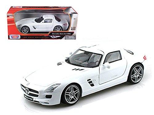 Mercedes SLS AMG Gullwing White 1/18 Car Model by