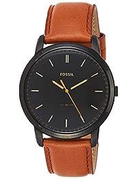 Fossil FS5305 Reloj The Minimalist 3H, Análogo, Redondo para Hombre