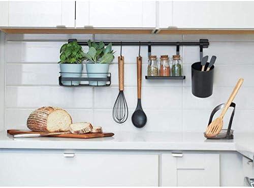 iDesign Austin Kitchen Wall Organizer, Holds Spices, Utensils