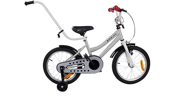 Bicicleta Infantil Niño Chico BMX Junior 16 pulgadas con Freno ...