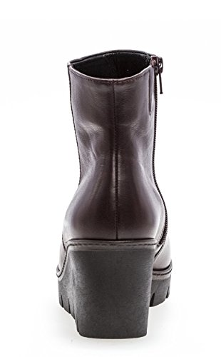 Wedge Gabor Gabor Womens Utopie Talon Utopie Bottes Cheville Merlot Chunky rrwFI
