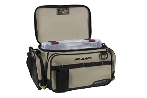 - Plano PLAB36111 Weekend Series3600 Size Tackle Case, Tan, Premium Tackle Storage