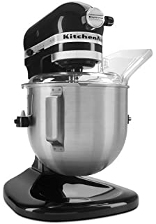 KitchenAid KSM500PSOB Pro 500 Series 10 Speed 5 Quart Stand Mixer, Onyx  Black