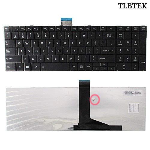 TLBTEK Laptop Replacement Keyboard Compatible Toshiba Satellite C850 C850D C855 C855D C870 C875 C875D(Compatible L850 L850D L855 L855D L870 L870D L875D L950 L950D L955 L955D P850 P850D P855 US Layout
