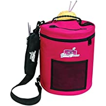 ArtBin Steel Yarn Drum, Raspberry by Art Bin