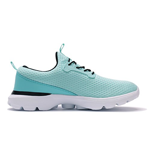 Xinbeige Donna Scarpe Da Tennis Da Passeggio Sportive Yoga Da Jogging Scarpe Da Corsa Leggere Sneakers Traspiranti Verdi