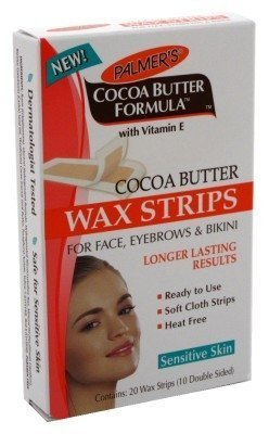 Palmers Cocoa Butter Wax Strips 20 Face-Eyebrows-Bikini