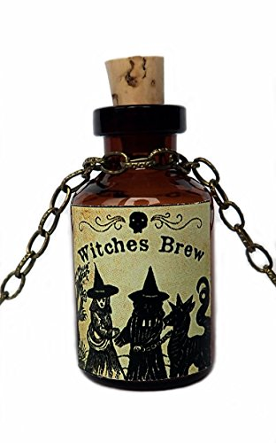 Bottle Pendant: Witches Brew ()
