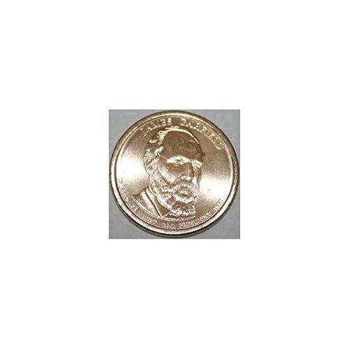 (2011-P James A Garfield Presidential Dollar Gem BU)