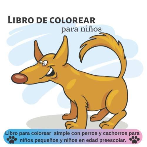 Libro de colorear para niños: Libro para colorear simple con ...