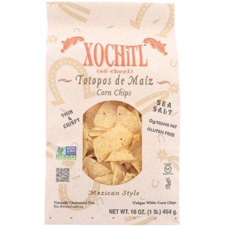 Xochitl Salted Corn Tortilla Chips 12 oz (Pack of 3)