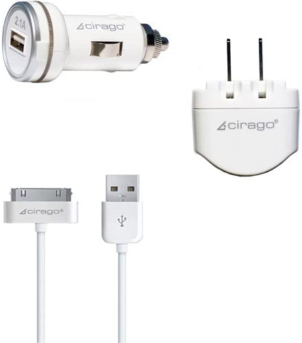 Cirago USB Charger Kit 2.1A IPA3200