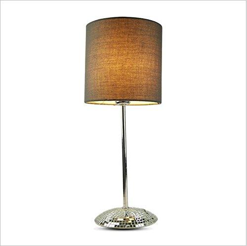 ZHIYUAN Schlafzimmer Ideen einfach, einfach, einfach, Grünikale Wohnzimmer Tisch Lampe led Lampe Größe    15  15 CM H17.5  (mm), schwarz B072R5QM1F | Um Zuerst Unter ähnlichen Produkten Rang  b99ef5