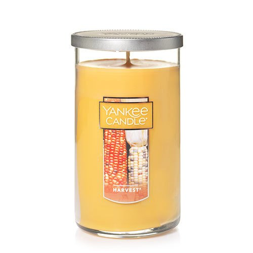 Yankee Candle Medium Perfect Pillar Candle, Harvest Pillar Pumpkin