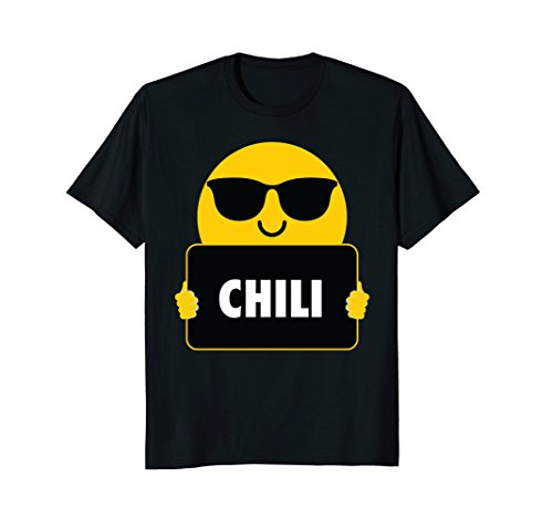 Chili Shirt Sunglasses Emoji T-Shirt - Sunglasses Chili