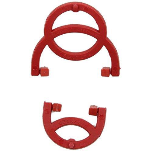 Vista System Eiskrallensatz rot Herrenschuhe (Ersatzteilartikel) Rot