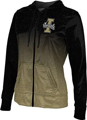 University of Idaho Women's Zipper Hoodie, School Spirit Sweatshirt (Ombre) FCFD ()