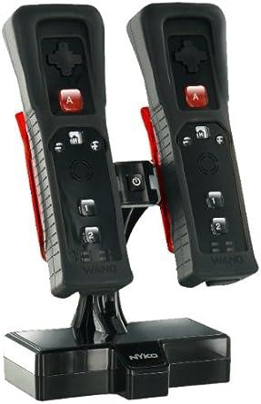 Nyko Charge Base IC - cajas de video juegos y accesorios (Negro, Con cables) Black: Amazon.es: Videojuegos