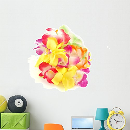 Wallmonkeys Hawaiian Lei Wall Decal Peel and Stick Graphic (48 in H x 38 in W) WM128295
