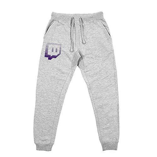 Twitch Glitch Sweatpants - Grey M