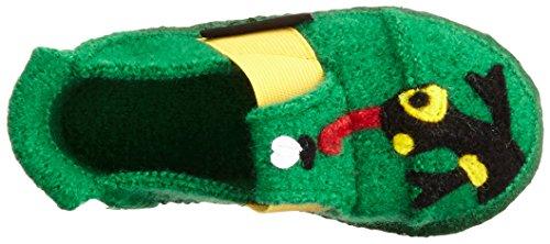 Nanga Salamander - Zapatilla de estar Por casa Niños Verde - Grün (Mittelgrün / 96)