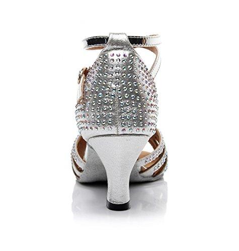 Jazz Grigio Light Moderno MGM 35 Grey Heel 6cm e Donna Joymod SqfRH