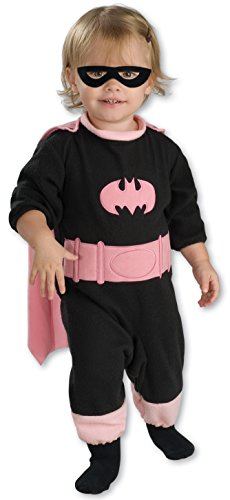Halloween Costumes For Less Than 20 (DC Comics Pink Batgirl Romper Costume, 6-12 Months)