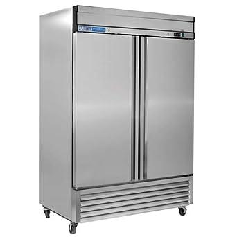Kratos Refrigeration 69K-774 Congelador de 2 puertas, 46 cu ...