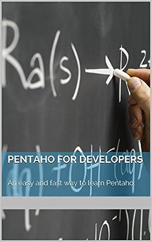 Pentaho for Developers