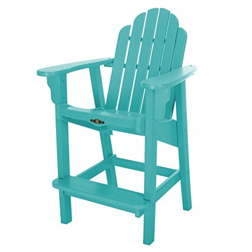 Pawley's Island Essentials Counter Height Adirondack Chair Blue ()