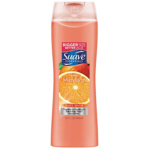 Suave Essentials Body Wash, Mango Mandarin 15 oz
