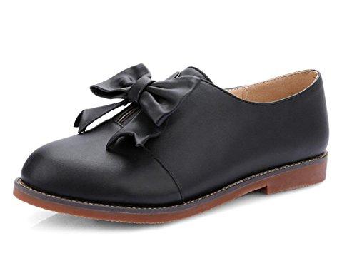 UK7 de la zapatos EU41 Ms zapatos zapatos arquean estudiante los CN41 del plana princesa elevadores Spring zapatos US9 0azwq8