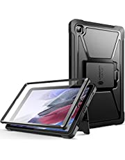 ZtotopCases Case Compatible with Samsung Galaxy Tab A7 Lite 8.7 Inch 2021, Built-in Screen Protector, Dual-Layer Shockproof Full-Body Protective Cover for Galaxy Tablet A7 Lite(SM-T220/T225), Black