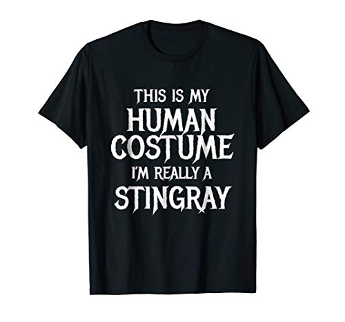 I'm Really a Stingray T Shirt Easy Halloween