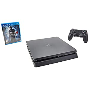 PS4 Slim 500GB Console + Controller [game not included]