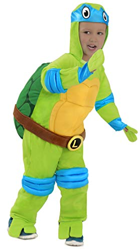 Princess Paradise Baby's Teenage Mutant Ninja Turtles Costume Jumpsuit, Leonardo, 18M-2T]()