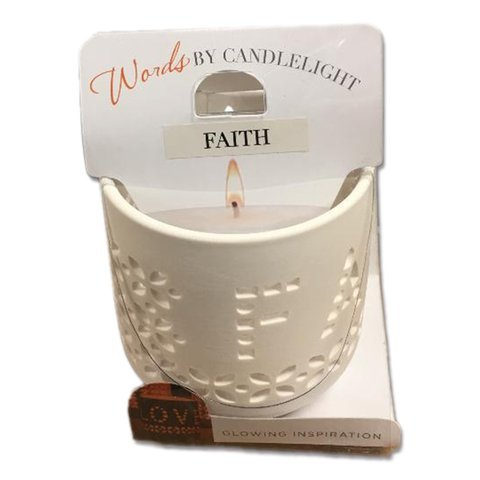 Words By Candlelight (Faith) by Giftcraft