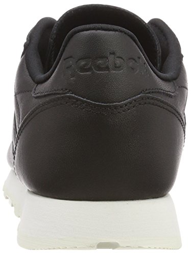 Leather Reebok Classic Baskets Hardware Blackchalk Femme blackchalk Noir 55Tr86qw