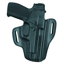 Gould & Goodrich GGB802-250LH Gold Line Two Slot Pancake Holster, Fits Sig 250 Compact 9mm, 40, 0.357 (Black)