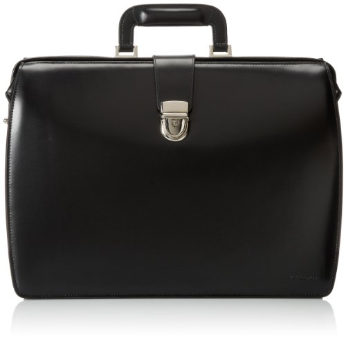 - Jack Georges Classic Briefbag, Black, One Size