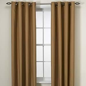 Amazon Com Boca Thermosave 50x84 Curtain Panels Drapery W