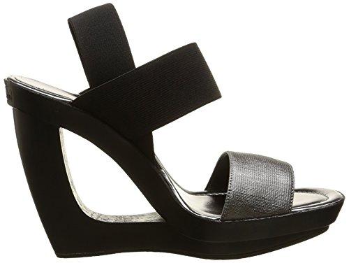 Calvin Klein Yelena - Sandalias de vestir Mujer Negro - Noir (Bas)