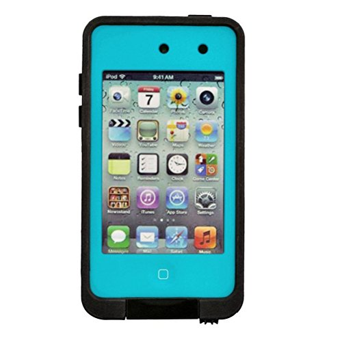 Foxnovo Waterproof Shockproof Dirtproof Protective Case Cover Shell for iPod touch 4 (Blue)