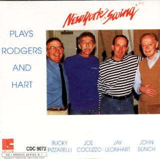 - New York Swing Plays Rodgers And Hart