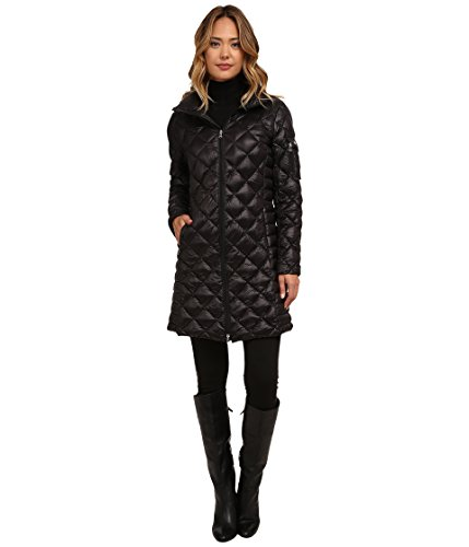 Ralph Lauren Lauren Soft Down Packable Walker (Black) Women's Coat Size-XS (XS)
