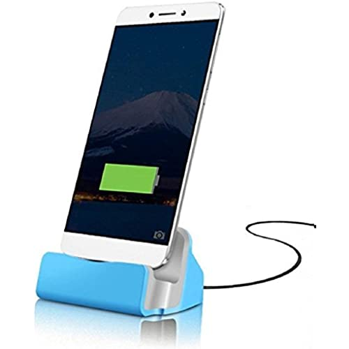ONX3 Blue Samsung Galaxy S8 Desktop Charger USB TYPE C Base Stand Data Sync Charging Docking Station Sales