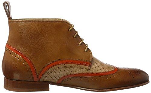 1 Mehrfarbig Tan Zapatos LS Cappu amp;Hamilton 6 Orange Sally 5 Salerno Salerno Melvin 8 Perfo 2 3 4 30 Mujer Salerno Nat DK Derby fCOnq